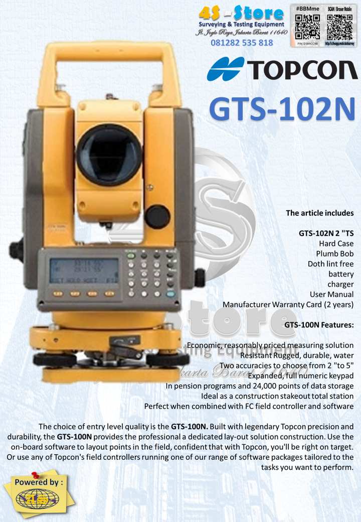 total station topcon gts 102n 4s store surveying testing rh anekaalatsurveyindonesiablog wordpress com topcon gts 250 manual topcon gts 220 manual
